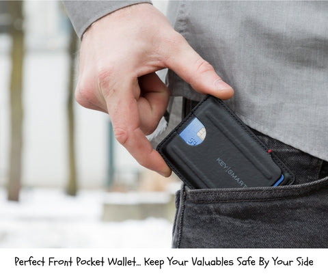 Urban Slim Wallet By KeySmart