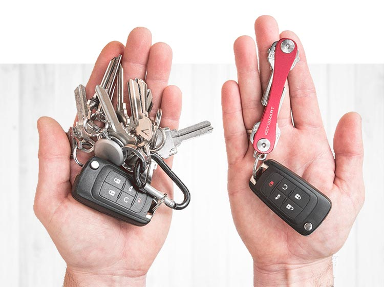 KeySmart Pro with Tile - Organize and Track Your Keys!