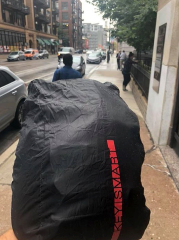 Urban 21 Commuter Backpack Rain Cover