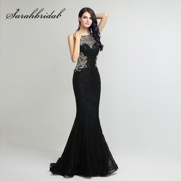 Elegant Lace Long Mermaid Prom