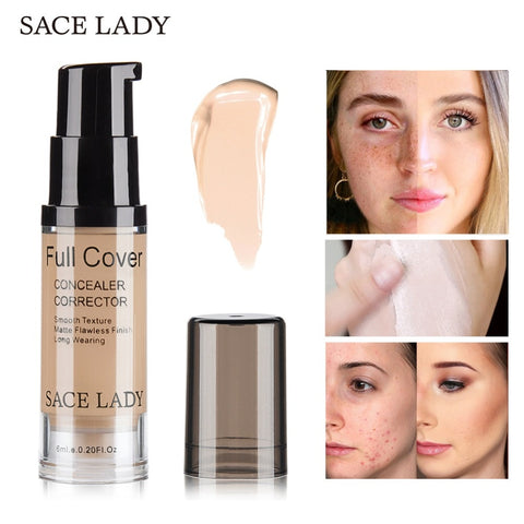 SACE LADY 8 Colors Full Cover Face Corrector Cream