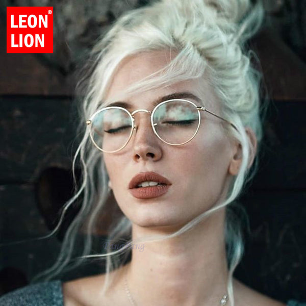 LeonLion Mirror Metal Sunglasses