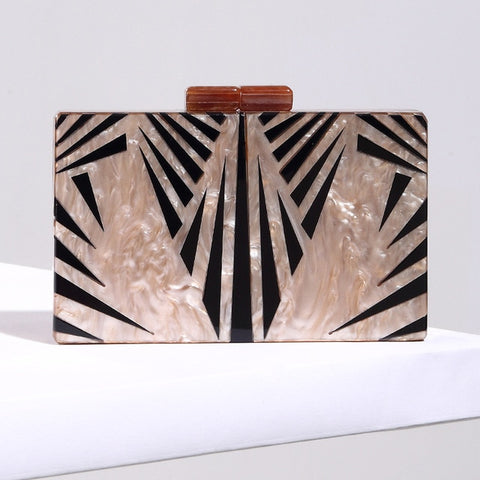 Fashion Pearlescent Acrylic Bag