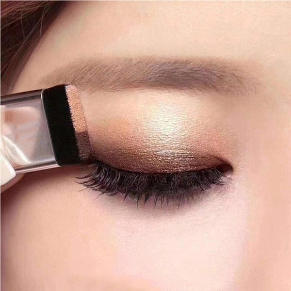 Double Color Lazy Eye Shadow Makeup Palette