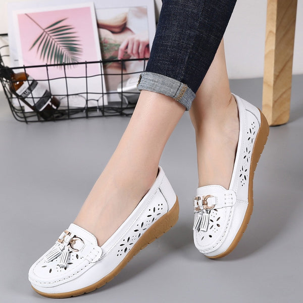 Summer Genuine Leather Shoes