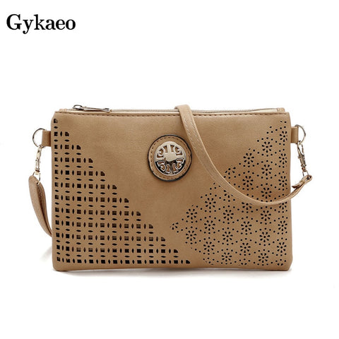 Gykaeo Ladies Hollowed Out Casual Envelop Bags