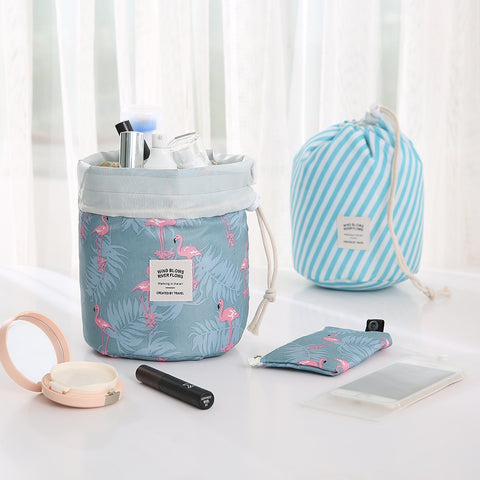 Hot Sale Round Waterproof Makeup Bag