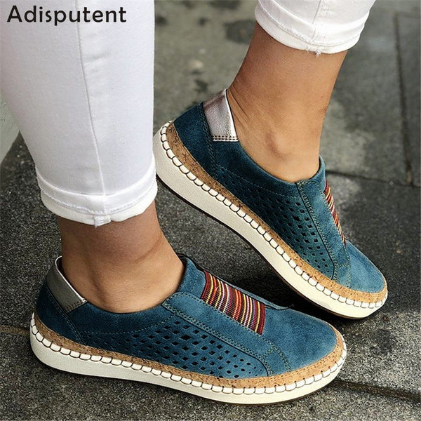 ADISPUTENT Casual Leather Loafers