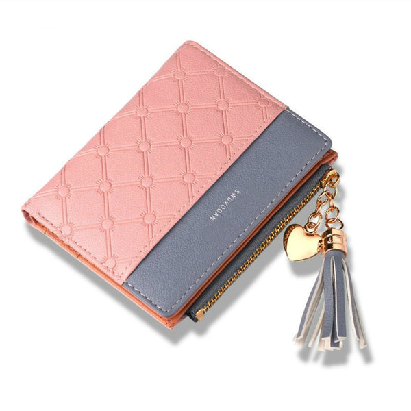 Tassel Leather Wallet