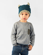 Load image into Gallery viewer, Boy Musician Baby Alpaca Sweater