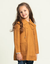 Load image into Gallery viewer, Girl Solange Baby Alpaca Coat