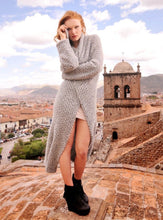 Load image into Gallery viewer, Women Kate Alpaca Long Cardigan