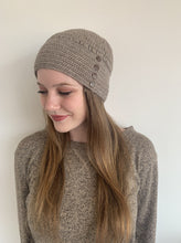 Load image into Gallery viewer, Women Brown Rice Baby Alpaca Hat