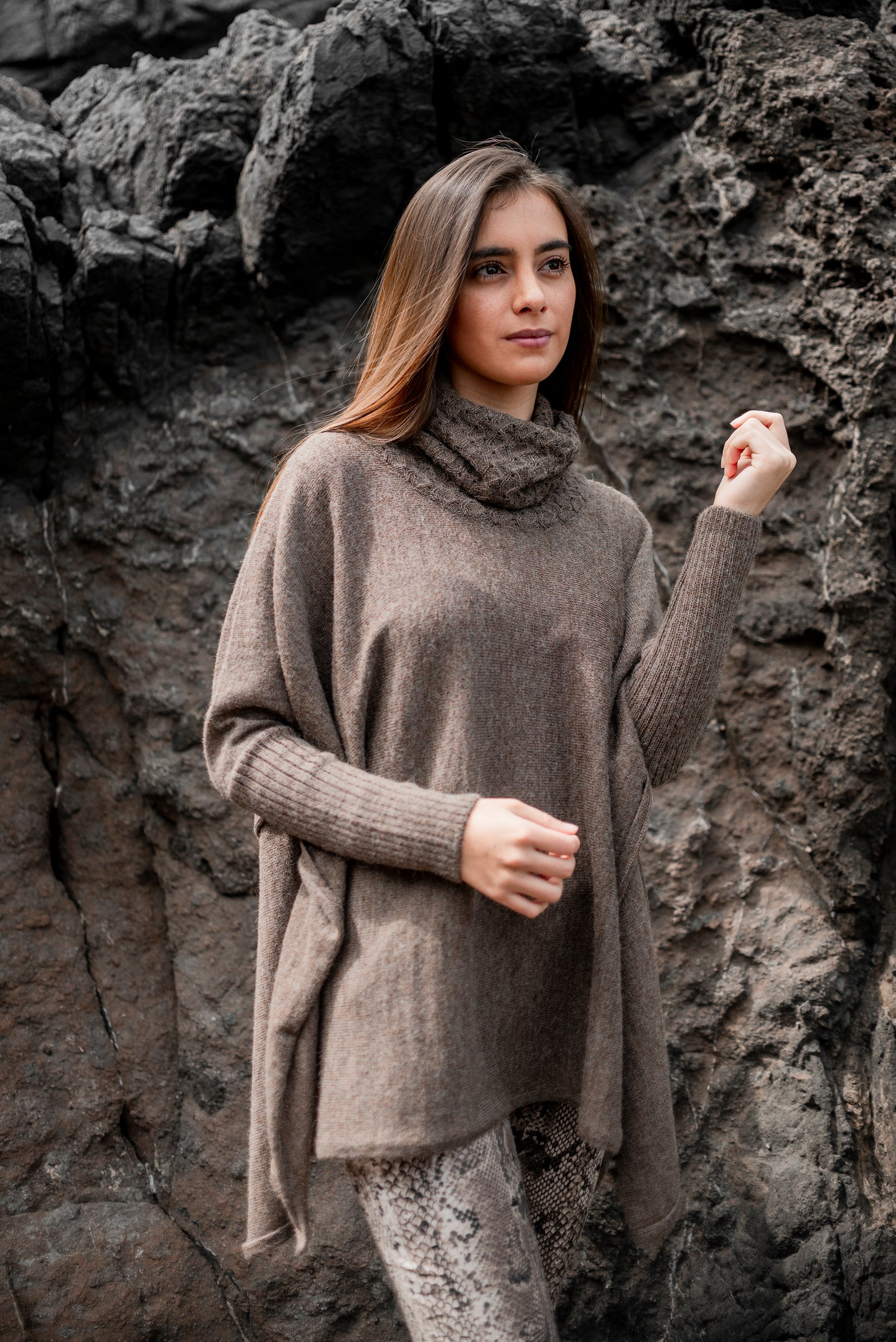 Women Karla Baby Alpaca Sweater