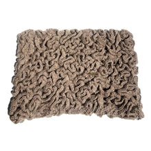 Load image into Gallery viewer, Women Brown Wormy Baby Alpaca Scarf