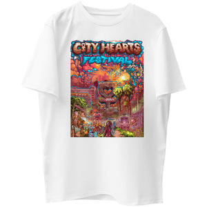 City Hearts Graphic Tee