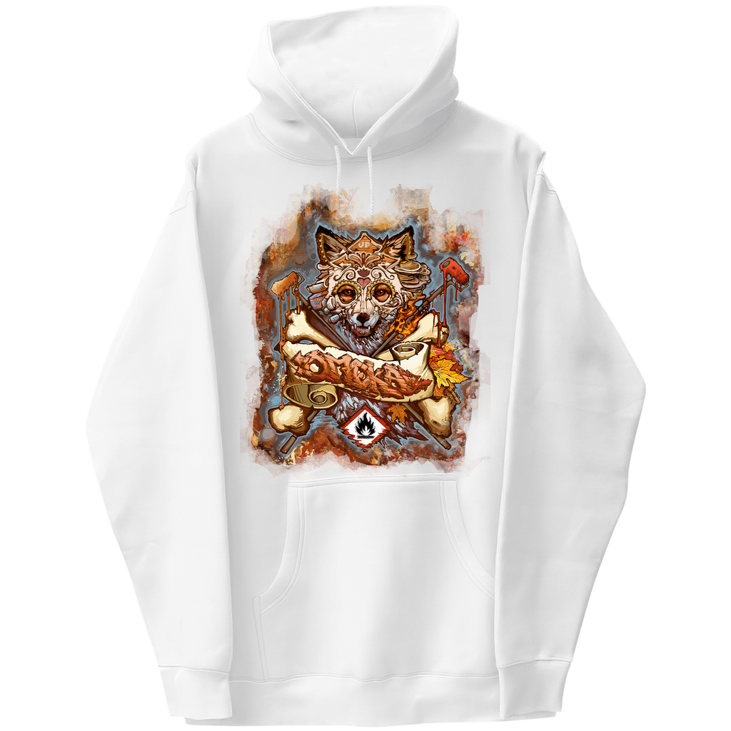 Fall Fox Graphic Hoodie