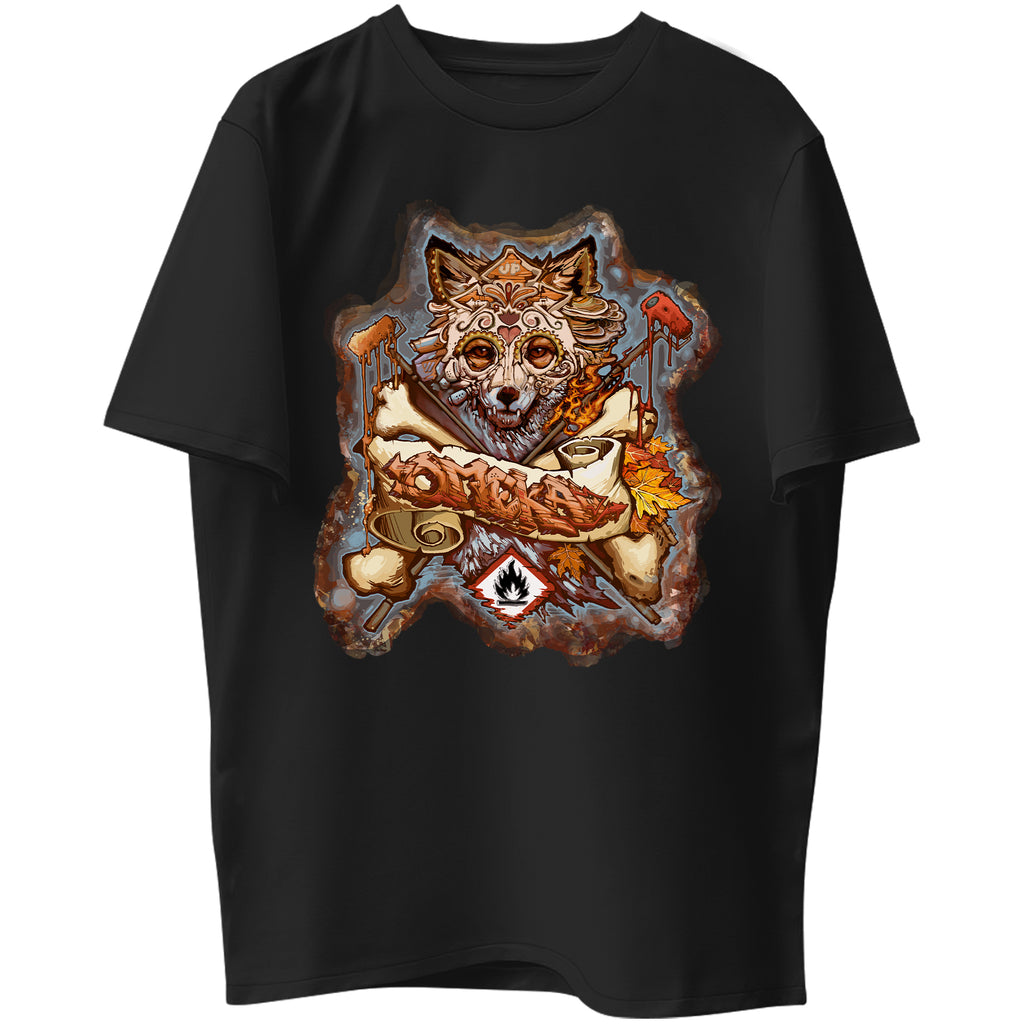 Fall Fox Graphic Tee