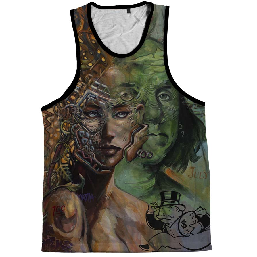 I'm Broken Pieces Tank Top