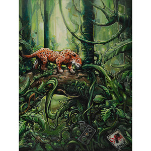 Jungle Tech Canvas Print