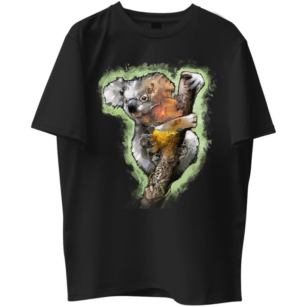 Koala Bear Graphic Tee - SAVE THE WILDLIFE