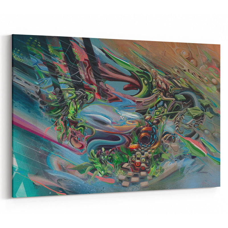 Spin Cylce Canvas Print