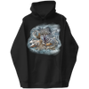 Winter Wolf Graphic Hoodie