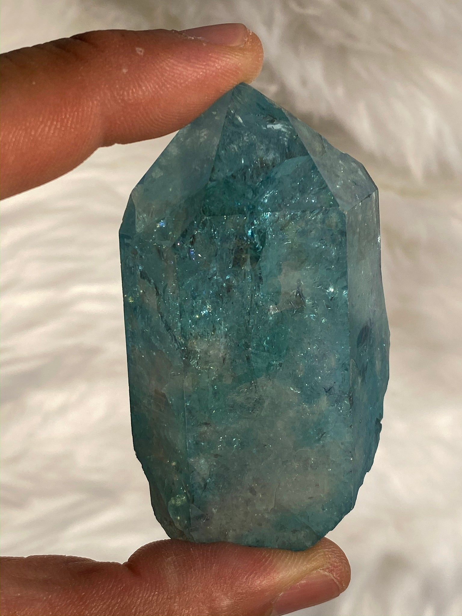 Aqua Aura Quartz 129gm