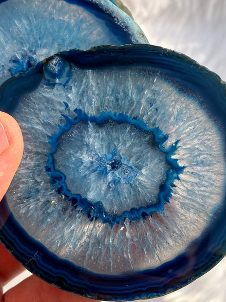 Agate Blue Pack Coaster 4 Pieces