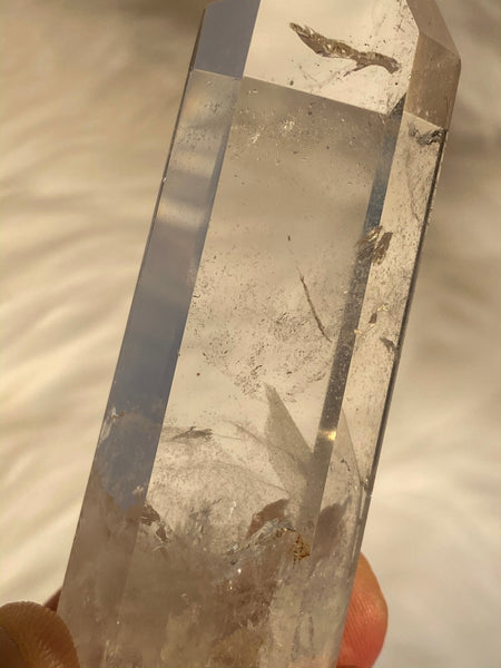 Clear Quartz Polished Point Phantom 71gm