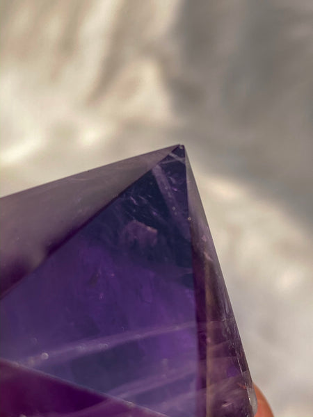 Ametrine - Amethyst Citrine Polished Point 142gm