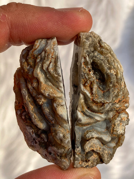 Agate Geode Mini Friendeship Pack (2 pieces) 40gm