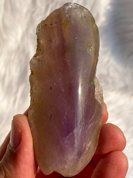 Ametrine Elestial One Face Polished 93gm