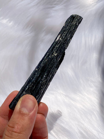 Tourmaline Black and Mica Natural Stick 138gm