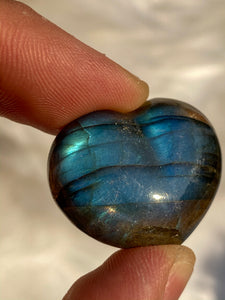 Labradorite Heart 15gm
