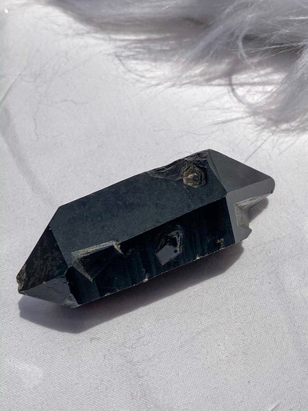 Smoky Quartz Double Terminator 51gm