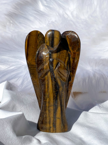 Tiger Eye Angel 187g