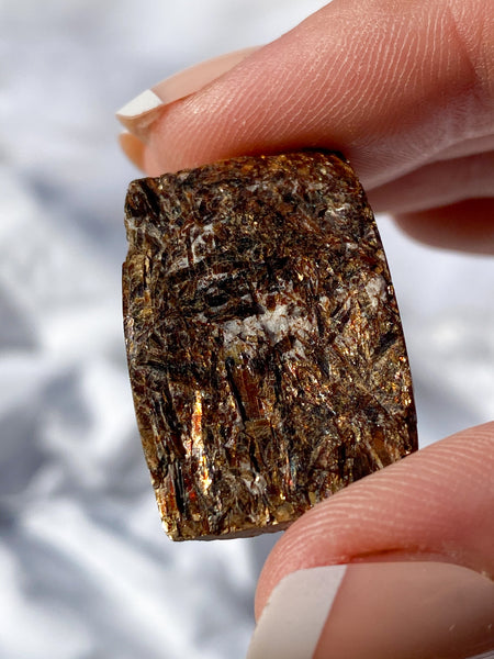 Astrophyllite Cabochon Natural Rectangle Medium