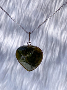 Vasanite Heart Pendant