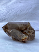 Load image into Gallery viewer, Smoky Quartz Cluster with Inclusions 376g
