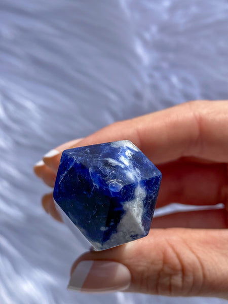 Sodalite Polished Point 68g