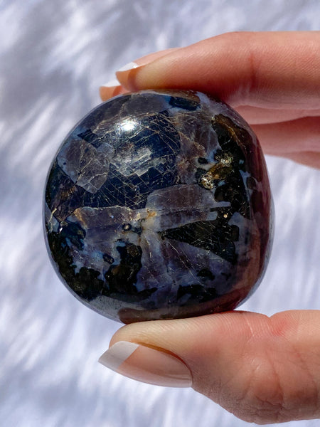 Gabbro Mystic Merlinite Pebble 130g