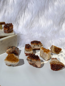 Citrine Cluster Unit 43g to 100g