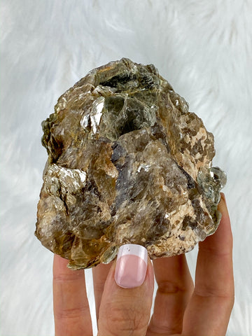 Natural Citrine and Mica 579g
