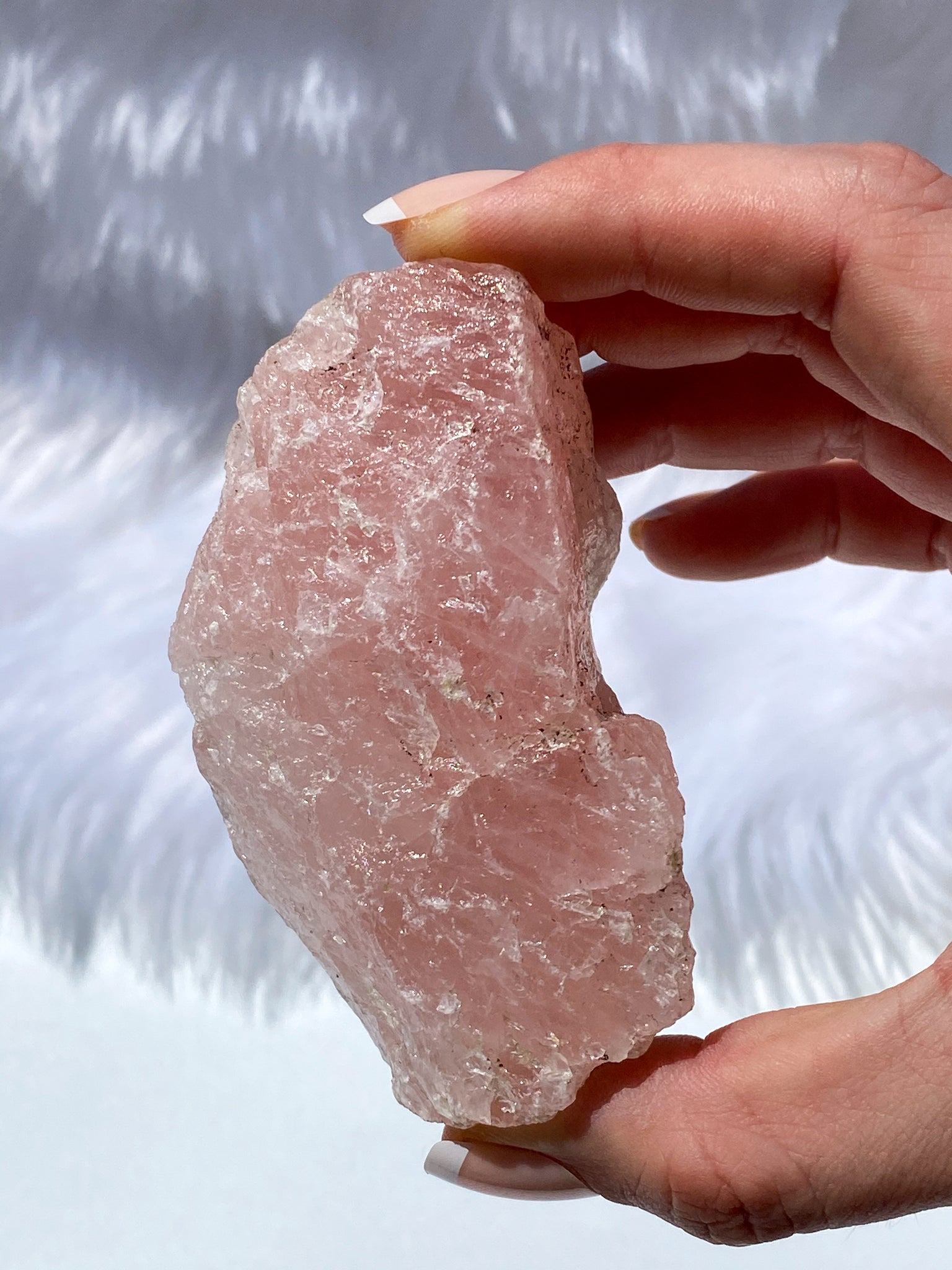 Rose Quartz Natural Chunk 194g