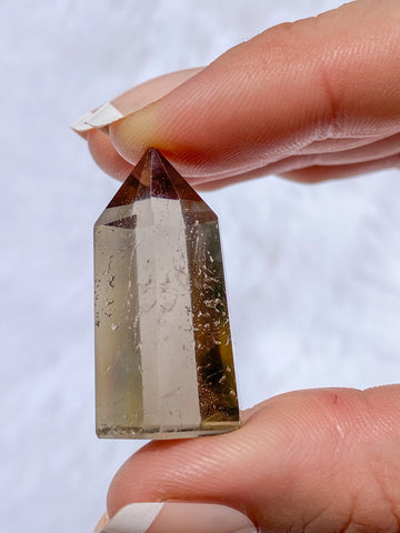 Smoky Quartz Polished Point Mini 16g