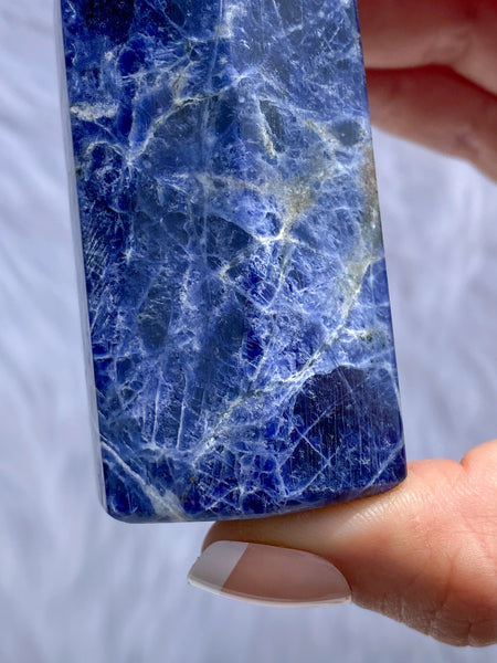 Sodalite Polished Point 133g