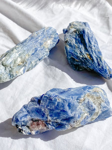 Blue Kyanite with Mica and Quartz Natural | X Large