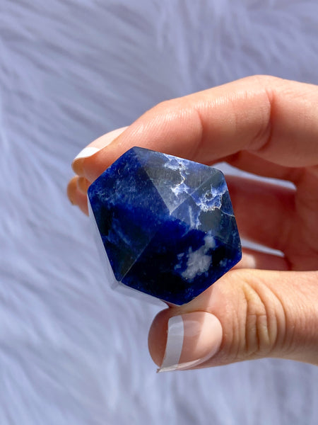 Sodalite Polished Point 104g