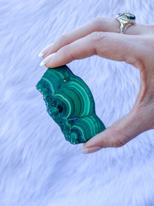 Malachite Slice 34g